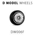 D MODEL 1/64用 ドレスアップパーツシリーズ Wheels No.6 Daredevil (Silver)