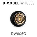 D MODEL 1/64用 ドレスアップパーツシリーズ Wheels No.6 Aero (Gold)