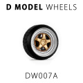 D MODEL 1/64用 ドレスアップパーツシリーズ Wheels No.7 (Silver/Gold)