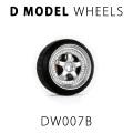 D MODEL 1/64用 ドレスアップパーツシリーズ Wheels No.7 (Silver)