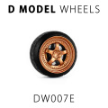 D MODEL 1/64用 ドレスアップパーツシリーズ Wheels No.7 (Copper)