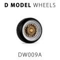 D MODEL 1/64用 ドレスアップパーツシリーズ Wheels No.9 (Silver/Gold)