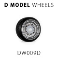 D MODEL 1/64用 ドレスアップパーツシリーズ Wheels No.9 (White)