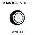 D MODEL 1/64用 ドレスアップパーツシリーズ Wheels No.10 (White)
