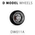 D MODEL 1/64用 ドレスアップパーツシリーズ Wheels No.11 (Silver)