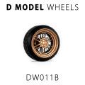 D MODEL 1/64用 ドレスアップパーツシリーズ Wheels No.11 (Copper)