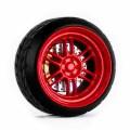 D MODEL 1/64用 ドレスアップパーツシリーズ Wheels No.11 (Red)