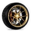 D MODEL 1/64用 ドレスアップパーツシリーズ D Model Wheels No.12 (Gold)