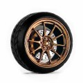 D MODEL 1/64用 ドレスアップパーツシリーズ Wheels No.14 (Copper)