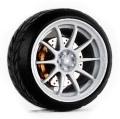 D MODEL 1/64用 ドレスアップパーツシリーズ D Model Wheels No.14 (White)