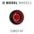 [予約]D MODEL 1/64用 ドレスアップパーツシリーズ D Model Wheels No.14 (Red)
