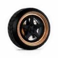 D MODEL 1/64用 ドレスアップパーツシリーズ Wheels No.15 (Copper/Black)