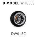 [予約]D MODEL 1/64用 ドレスアップパーツシリーズ D Model Wheels No.18 (DARK GREY)