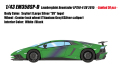 [予約]EIDOLON (アイドロン) 1/43 ランボルギーニアヴェンタドールLP750‐4 SV 2015 with Engine セイファート (ラージシルバーSVロゴ) 限定30台