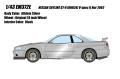 [予約]EIDOLON (アイドロン) 1/43 日産 スカイライン GT‐R (BNR34) V‐spec II Nur2002 スパークリングシルバー