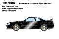 [予約]EIDOLON (アイドロン) 1/43 日産 スカイライン GT‐R (BNR34) V‐spec II Nur2002 ブラックパール