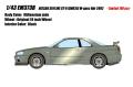 EIDOLON(アイドロン) 1/43 日産スカイライン GT‐R (BNR34) M‐spec Nur 2002 ミレニアムジェイド(限定100台)
