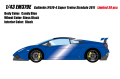 [予約]EIDOLON(アイドロン) 1/43 ランボルギーニ ガヤルド LP570‐4 スーパー トロフェオ ストラダーレ 2011 キャンディブルー ※限定30台