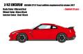 [予約]EIDOLON(アイドロン) 1/43 日産 GT‐R トラックエディション エンジニアード バイニスモ 2017 バイブランドレッド(限定35台)