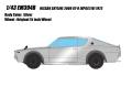 [予約]EIDOLON (アイドロン) 1/43 日産 スカイライン 2000 GT-R (KPGC110) 1973 シルバー
