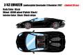 [予約]EIDOLON (アイドロン) 1/43 ランボルギーニ アヴェンタドール S ロードスター 2017 ブラック (限定30台 Limited 30 pcs)