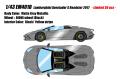 [予約]EIDOLON (アイドロン) 1/43 ランボルギーニ アヴェンタドール S ロードスター 2017 マットメタリックグレー (限定30台 Limited 30 pcs)