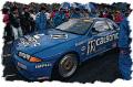 [予約]EIDOLON(アイドロン) 1/43 日産スカイライン GT‐R (BNR32) Gr.A カルソニックチームインパル JTC 西日本