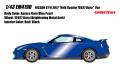 [予約]EIDOLON (アイドロン) 1/43 日産 GT‐R 2017 TE037 wheel Ver. オーロラフレアブルーパール(限定30台)