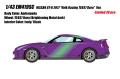 [予約]EIDOLON (アイドロン) 1/43 日産 GT‐R 2017 TE037 wheel Ver. アンドロメダ(限定30台)