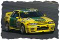 [予約]EIDOLON (アイドロン) 1/43 日産 スカイライン GT-R (BNR32) Gr.A BPオイル トランピオ インターTEC 富士 1993 ウィナー