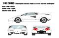"""[予約]EIDOLON (アイドロン) 1/43 ランボルギーニ カウンタック LP400S Ch.1121164 """"フェルッチオ・ランボルギーニ"""" 1980"""