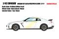 [予約]EIDOLON (アイドロン) 1/43 日産 GT-R 50台限定特別仕様車 2019 ブリリアントホワイトパール (タン/ブラック) ※限定50台