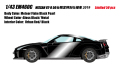 [予約]EIDOLON (アイドロン) 1/43 日産 GT-R 50台限定特別仕様車 2019 メテオフレークブラックパール (アーバンレッド/ブラック) ※限定50台