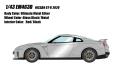 EIDOLON (アイドロン) 1/43 日産 GT-R 2020 アルティメイトメタルシルバー (レッドインテリア)