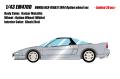 [予約]EIDOLON (アイドロン) 1/43 ホンダ NSX-R(NA1) 1994 オプションホイール カイザーシルバーメタリック (限定30台)
