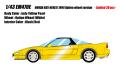 [予約]EIDOLON (アイドロン) 1/43 ホンダ NSX-R(NA1) 1994 オプションホイール インディイエローパール (限定30台)