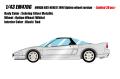 [予約]EIDOLON (アイドロン) 1/43 ホンダ NSX-R(NA1) 1994 オプションホイール セブリングシルバーメタリック (限定30台)