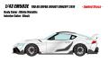 [予約]EIDOLON (アイドロン) 1/43 トヨタ GRスープラ TRD 3000GT コンセプト 2019 ホワイトメタリック (限定30台)