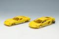 [予約]EIDOLON (アイドロン) 1/43 ランボルギーニ Superveloce セット イエロー/シルバー  ※限定25台