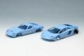 [予約]EIDOLON (アイドロン) 1/43 ランボルギーニ Superveloce セット ライトブルー/シルバー   ※限定25台