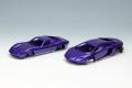 [予約]EIDOLON (アイドロン) 1/43 ランボルギーニ Superveloce セット メタリックパープル/シルバー  ※限定25台