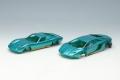 [予約]EIDOLON (アイドロン) 1/43 ランボルギーニ Superveloce セット メタリックターコイズグリーン/ゴールド  ※限定25台