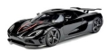[予約]FRONTIART (フロンティアート) 1/18 Koenigsegg Agera S (ブラック) 限定100台
