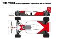 [予約]EIDOLON(アイドロン) 1/43 マクラーレンホンダMP4/6 日本GP ウィナーNo.2 ゲルハルト・ベルガー