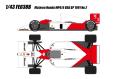 [予約]EIDOLON (アイドロン) 1/43 マクラーレン ホンダ MP4/6 USA GP No.2