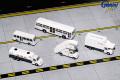 [予約]Gemini Jets 1/200 アメリカン航空 空港サービス車両、トラックセット