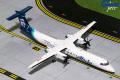 Gemini Jets 1/200 DASH 8-Q400 アラスカ航空 新塗装 N438QX