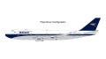 Gemini Jets 1/200 747-400 ブリティッシュエアウェイズ (BOAC レトロカラー Flaps) G-BYGC