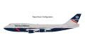[予約]Gemini Jets 1/200 747-400 ブリティッシュエアウェイズ G-BNLY Landor livery, flaps down