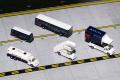 [予約]Gemini Jets 1/200 デルタ航空 空港サービス車両、トラックセット